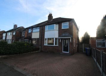 Thumbnail 3 bed semi-detached house to rent in Tanfield Road, Didsbury, Manchester