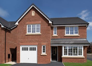 Thumbnail 4 bed detached house for sale in Linley Grange, Stricklands Lane, Stalmine, Lancashire