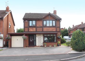 Thumbnail 4 bed detached house for sale in Cornfield Close, Wall Heath, Kingswinford