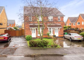 Thumbnail 2 bed semi-detached house for sale in Songthrush Avenue, Nottingham