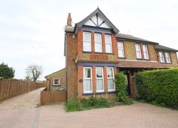 Thumbnail 3 bed semi-detached house for sale in Reculver Road, Herne Bay