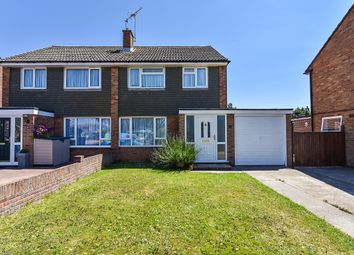 Thumbnail 3 bed semi-detached house for sale in Coniston Close, Felpham