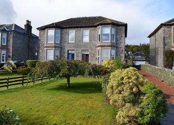 Thumbnail 2 bed flat for sale in Glenmorag Crescent, Dunoon, Argyll And Bute