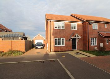 Thumbnail 3 bed semi-detached house for sale in Flintham, Shortstown