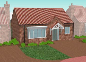 Thumbnail 2 bed detached bungalow for sale in Plot 6, The Normanby, Rye Walk Off East Street, Hibaldstow, Brigg
