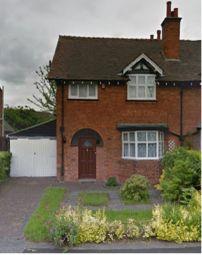 Thumbnail 3 bed semi-detached house to rent in Laburnum Road, Selly Oak, Birmingham
