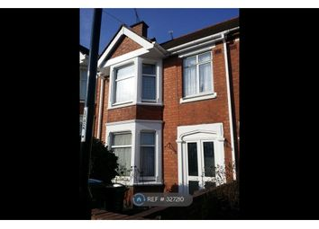 Thumbnail 3 bed terraced house to rent in Belgrave Road, Coventry