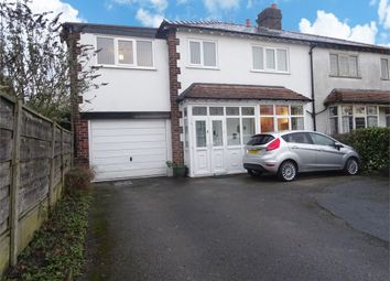 Thumbnail 5 bed semi-detached house for sale in Hawthorn Street, Wilmslow, Cheshire
