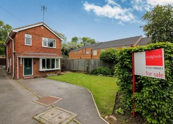 Thumbnail 4 bed detached house for sale in Hambleton Close, Knaresborough, North Yorkshire