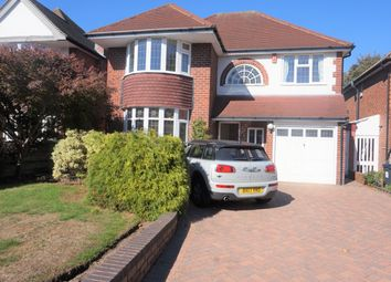 Thumbnail 4 bed detached house for sale in Corbridge Road, Boldmere, Sutton Coldfield