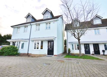 Thumbnail 3 bedroom semi-detached house for sale in Walter Mead Close, Ongar, Essex
