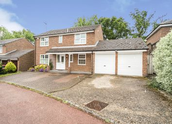 Thumbnail 4 bed detached house for sale in Dennose Close, Earley, Reading