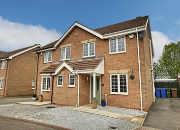 Thumbnail 3 bed semi-detached house for sale in Thorn Fields, Thorngumbald, Hull