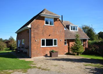 Thumbnail 3 bed detached house for sale in Denton Lane, Wootton, Canterbury