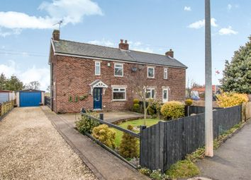 Thumbnail 3 bedroom semi-detached house for sale in Crowle Road, Eastoft, Scunthorpe