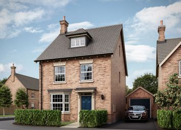 "Thumbnail 3 bed detached house for sale in ""The Ashby "" at Uppingham Road, Houghton-On-The-Hill, Leicester"
