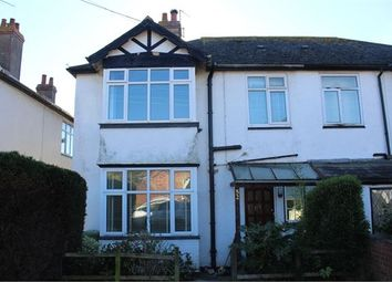 Thumbnail 3 bed semi-detached house to rent in St Johns Road, Exmouth, Devon.
