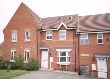 Thumbnail 4 bedroom terraced house to rent in Romulus Close, Wootton, Northampton