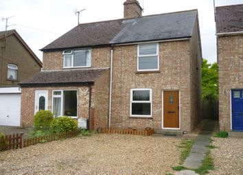 Thumbnail 2 bedroom semi-detached house to rent in Murfitts Lane, Fordham, Ely