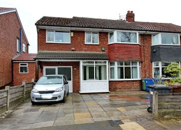 Thumbnail 4 bed semi-detached house for sale in Warwick Avenue, Whitefield, Manchester