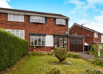 Thumbnail 3 bedroom semi-detached house for sale in Stanton Road, Great Barr, Birmingham