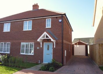 Thumbnail 3 bed semi-detached house for sale in Hutton Way, Faldingworth, Market Rasen