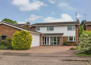 Thumbnail 4 bed detached house for sale in Meggan Gate, Longthorpe, Peterborough