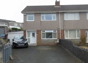 Thumbnail 3 bed semi-detached house for sale in Cefn Llwyn, Winchwen, Swansea