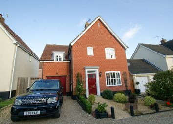 Thumbnail 3 bed detached house for sale in Aldergrove Close, Halesworth