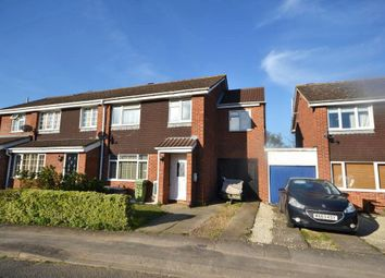 Thumbnail 4 bed semi-detached house for sale in Coleridge Close, Newport Pagnell, Buckinghamshire