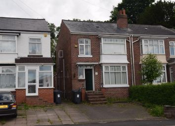 Thumbnail 1 bed semi-detached house to rent in Lodge Hill Road, Selly Oak, Birmingham