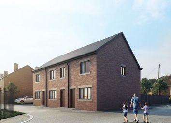 Thumbnail 3 bed mews house for sale in The Rookery, Newcastle, Staffordshire