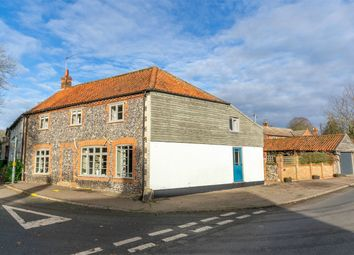 Thumbnail 4 bed semi-detached house for sale in Back Street, Litcham, King's Lynn