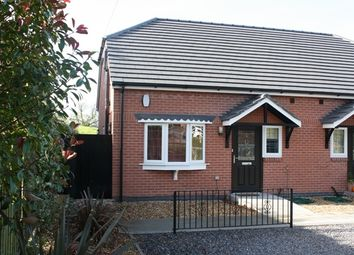 Thumbnail 2 bed semi-detached bungalow to rent in Barton Road, Market Bosworth