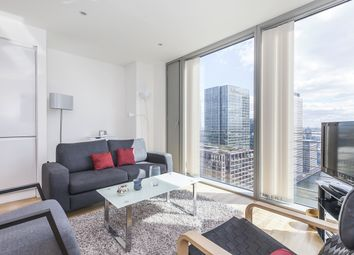 Thumbnail 1 bed flat to rent in Landmark East Tower, Marsh Wall, London