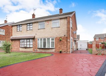 Thumbnail 3 bed semi-detached house for sale in Silverton Way, Wednesfield, Wolverhampton
