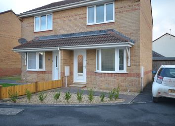 Thumbnail 2 bed semi-detached house to rent in Swallow Field, Barnstaple