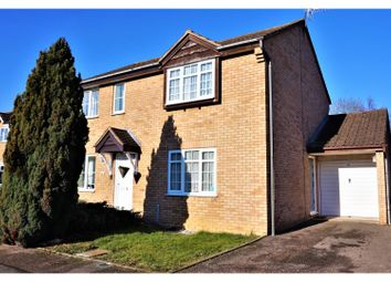 Thumbnail 2 bed semi-detached house for sale in Hazel Avenue, Evesham