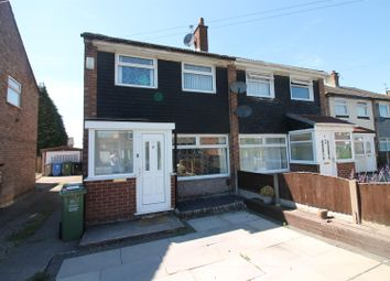 Thumbnail 3 bed semi-detached house to rent in Benbecula Way, Urmston, Manchester