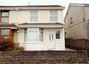 Thumbnail 3 bed semi-detached house for sale in Oak Street, Gilfach Goch, Porth