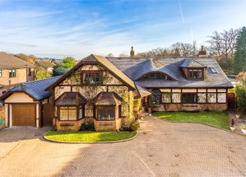 Thumbnail 6 bed detached house for sale in Lyne, Chertsey, Surrey