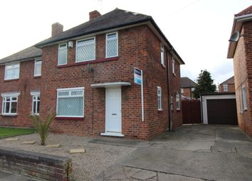 Thumbnail 3 bedroom semi-detached house for sale in Glendale Road, Middlesbrough