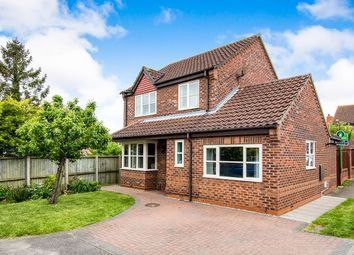 Thumbnail 3 bed detached house for sale in Poachers Court, Saxilby, Lincoln