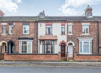 Thumbnail 4 bedroom terraced house to rent in Campbell Road, Stoke-On-Trent