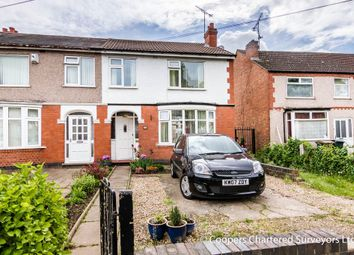 Thumbnail 3 bed end terrace house for sale in Glendower Avenue, Coventry