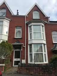 Thumbnail 7 bed terraced house to rent in Hawthorne Avenue, Uplands, Swansea