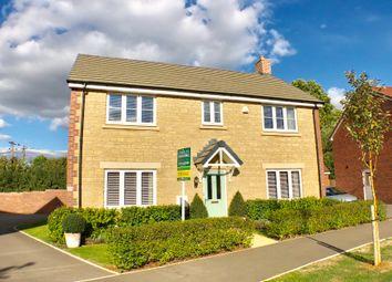 Thumbnail 4 bed detached house for sale in Polesdon Avenue, Coate, Swindon