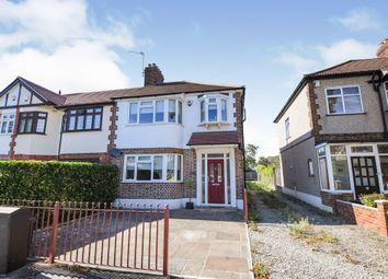 Thumbnail 3 bed end terrace house for sale in Woodfield Drive, Gidea Park, Romford