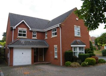 Thumbnail 4 bed detached house for sale in Reid Close, Burntwood, Staffordshire