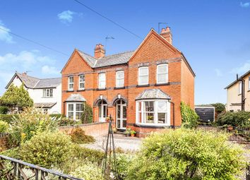 Thumbnail 3 bed semi-detached house for sale in Whittington Road, Gobowen, Oswestry, Shropshire